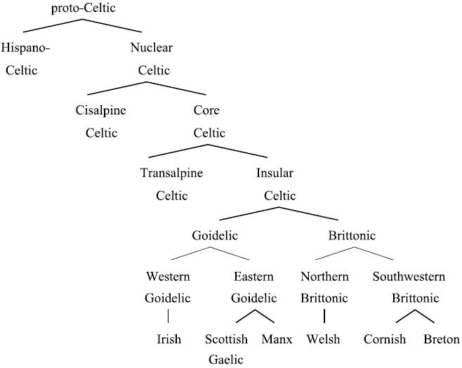 celtic-language-phylogenetic-family-tree